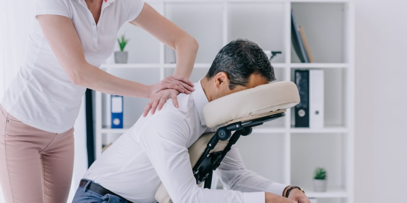 Chair Massage in Winston-Salem, North Carolina