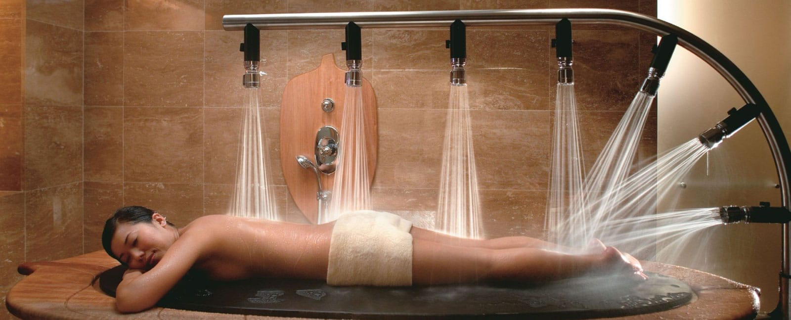 Vichy Table Shower Winston Salem Nc Lotus 5 Senses Spa