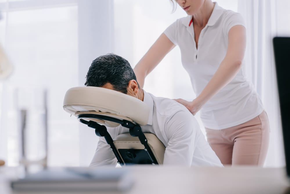 Six Reasons You Should Experience a Chair Massage