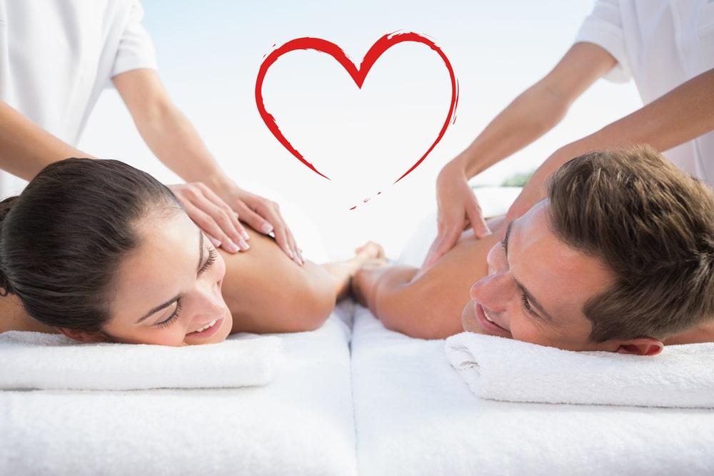 valentines day couples massage